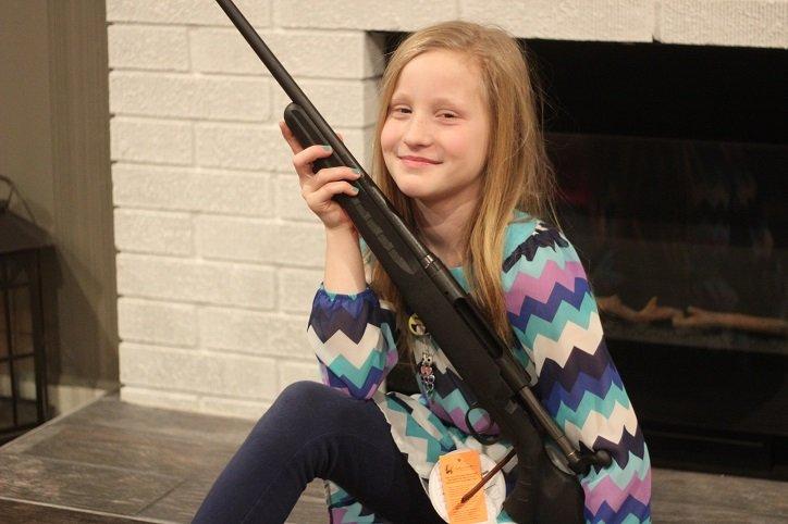 Kadey with her 7mm-08